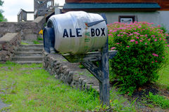 The Ale Box Mailbox Stock Photography