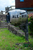The Ale Box Mailbox Stock Photos