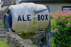 The Ale Box Mailbox Royalty Free Stock Photos