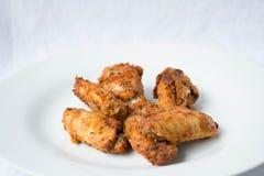 Ale di pollo fritte fotografie stock libere da diritti