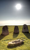 Ale's Stones (Ales Stenar) Royalty Free Stock Photos