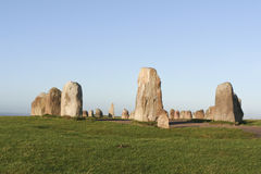 Free Ale´s Stones - Stone Circle Stock Photos - 38863733