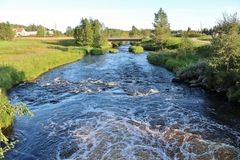Ale Stream at Ale Mill Royalty Free Stock Photo