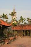 Ale Thap pagoda - północny wietnam Zdjęcie Royalty Free