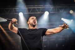 Alea Jacta Est σε Hellfest 2016 Στοκ Εικόνες