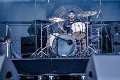 Alea Jacta Est in Hellfest 2016 Royalty Free Stock Photos