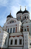 Aleaxander Nevsky Cathedral, Tallinn Royalty Free Stock Photo
