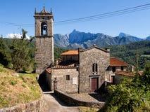 Alebbio church, San Gemignano. Lunigiana area of Italy. Royalty Free Stock Images