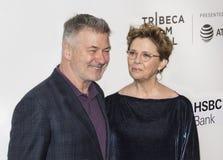 Alec Baldwin Annette Bening στο φεστιβάλ ταινιών Tribeca του 2018 Στοκ φωτογραφία με δικαίωμα ελεύθερης χρήσης