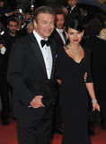Alec Baldwin & Hilaria Thomas Stock Images
