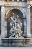 Alegoría de la fuente de Neobarochny del Danubio foto de archivo