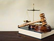 Alegoría de la justicia Fotografía de archivo libre de regalías