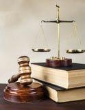 Alegoría de la justicia Fotos de archivo