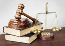 Alegoría de la justicia Imagen de archivo