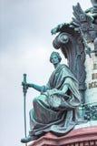 Alegoría de la justicia foto de archivo libre de regalías