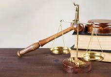 Alegoría de la justicia Imagen de archivo libre de regalías