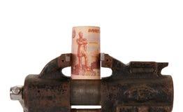 Alegoria globalny kryzys finansowy Obraz Stock
