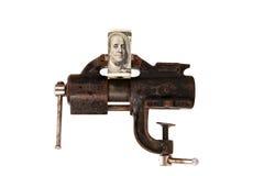 Alegoria globalny kryzys finansowy Fotografia Stock