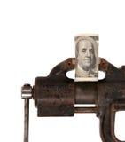Alegoria globalny kryzys finansowy Obrazy Stock