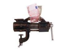 alegorii kryzysu pieniężny globalny Zdjęcia Royalty Free