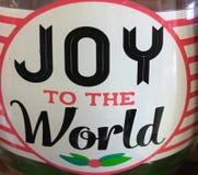 Alegría al mundo Imagenes de archivo