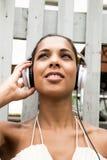 Alegría audio Foto de archivo libre de regalías
