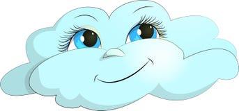 Alegría de la nube Foto de archivo libre de regalías