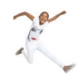 Alegría de salto 4 Imágenes de archivo libres de regalías