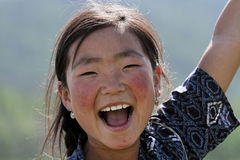 Alegría de un niño Fotos de archivo libres de regalías