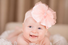 Alegría del bebé Imágenes de archivo libres de regalías