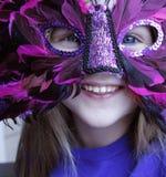 Alegría del carnaval Foto de archivo libre de regalías