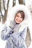 Alegría del invierno Fotografía de archivo