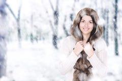 Alegría del invierno Imagen de archivo libre de regalías