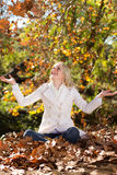 Alegría del otoño Imagen de archivo