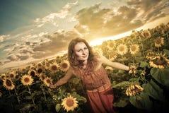 Alegría del verano Fotografía de archivo libre de regalías