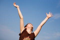 Alegría en el Sun Imagen de archivo