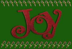 Alegría y bastones de caramelo Fotografía de archivo libre de regalías