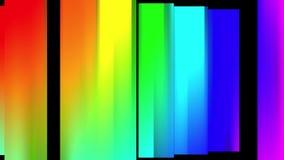 Alegre colorido animado dinámico del arco iris del color del bloque del fondo del nuevo movimiento universal móvil suave abstract stock de ilustración