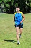 Alegre Running Foto de Stock