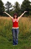 Alegria! Imagens de Stock Royalty Free