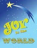 Alegria ao mundo Imagem de Stock Royalty Free