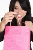 Alegria da compra Fotografia de Stock