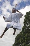Alegria da graduação foto de stock royalty free