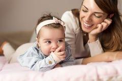 Alegria da maternidade Imagens de Stock Royalty Free