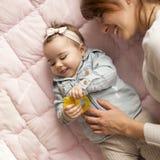 Alegria da maternidade Imagens de Stock