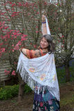 A alegria da primavera. Fotos de Stock