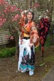 A alegria da primavera. Foto de Stock Royalty Free