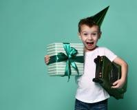 Alegria do aniversário fotografia de stock royalty free