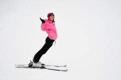 Alegria do inverno Fotografia de Stock