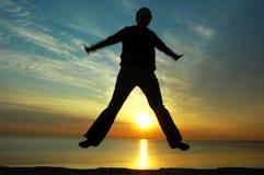 Alegria do nascer do sol Imagens de Stock